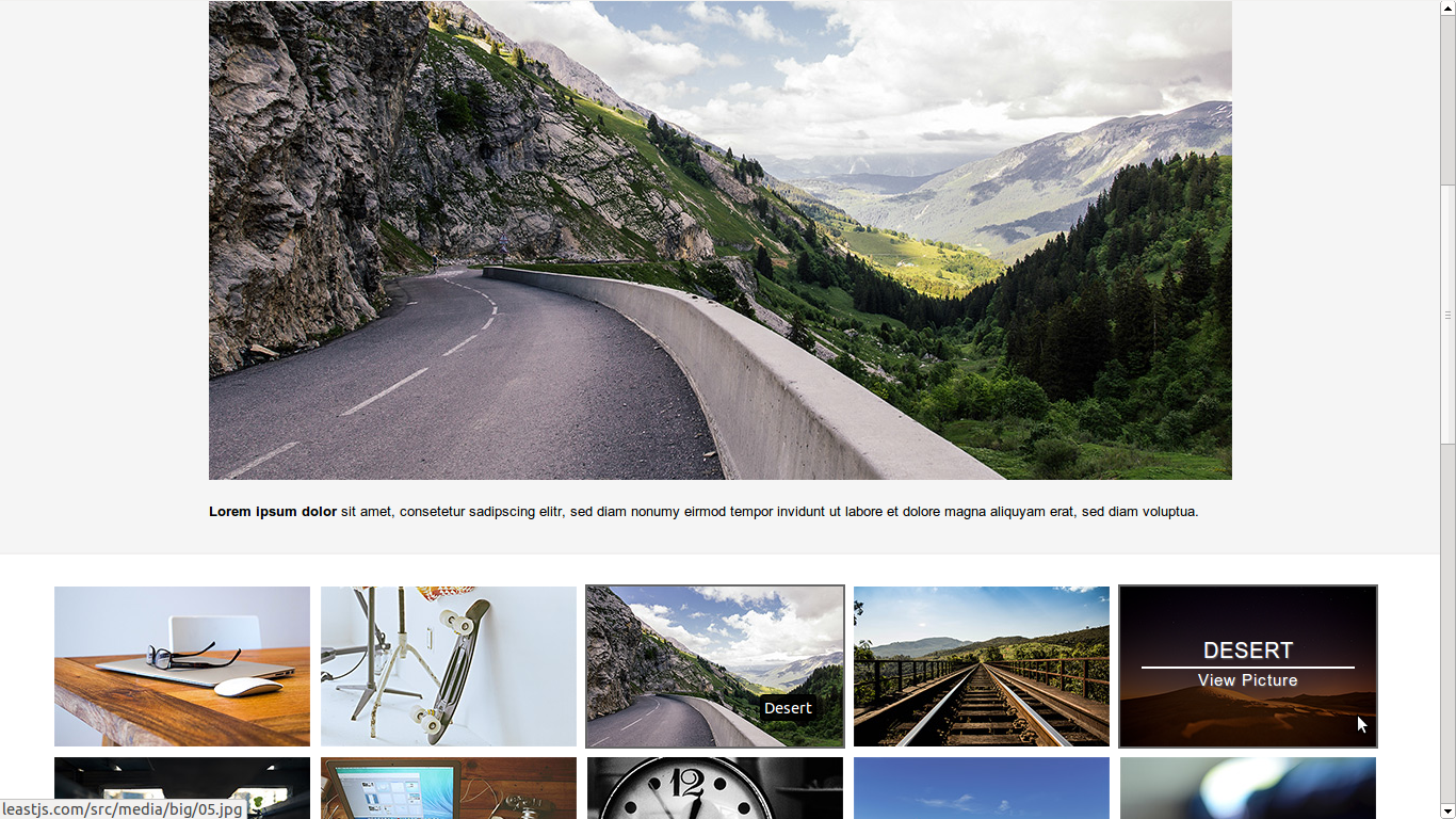 Simple Responsive Image Gallery for Joomla